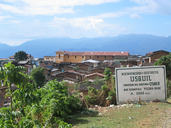 Distrito de Usquil, perteneciente a Provincia de Otuzco, Departamento de La Libertad, Perú (Foto referencial)