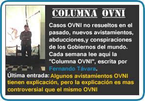 Columna OVNI, escrita por Fernando Távara, director de Exploración OVNI