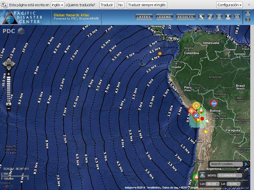 Atención Chile, Perú: Alerta de Tsunami continúa por 6 horas más