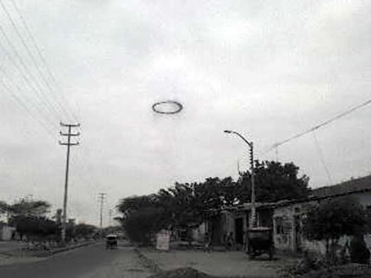 Anillo negro reportado en Piura