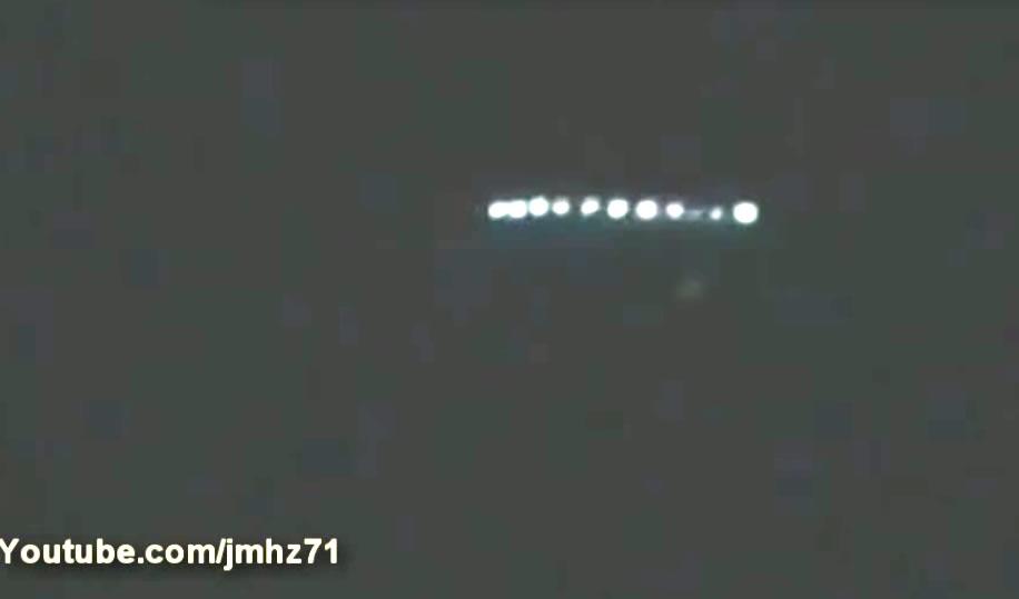 Objeto volador desconocido en Lima supuestamente grabado el 12 de abril (2014)