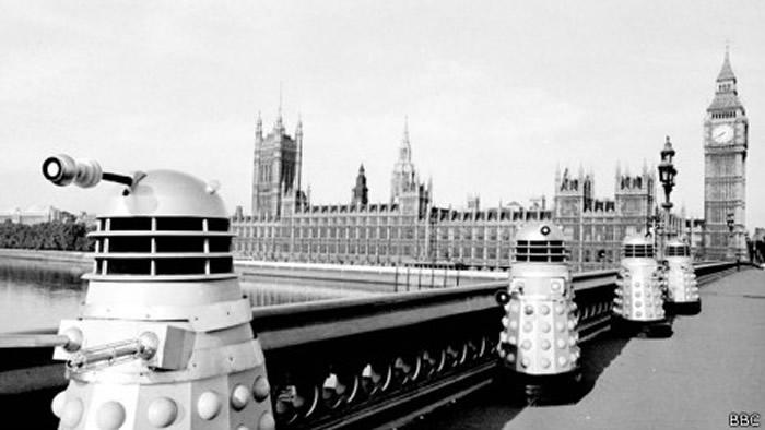 Los Daleks de Doctor Who fueron un intento de crear algo lo menos humano posible.