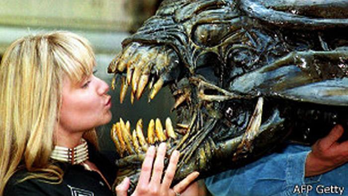 """Hans Ruedi Giger ganó un Oscar por la película """"Alien"""", de Ridley Scott."""