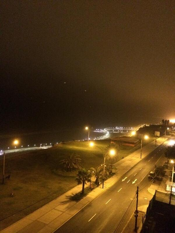Luces extrañas en San Miguel, Lima