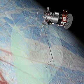La NASA espera lanzar una misión a la órbita de Europa, con el objetivo principal de determinar si, efectivamente, su sub-superficie posee un vasto océano. Crédito: NASA.