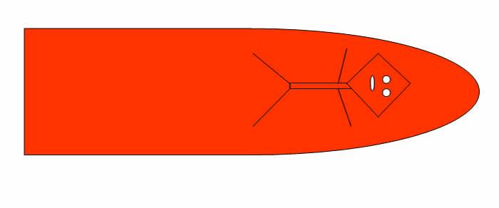 """Ilustración del objeto volador descrito por el testigo. Noten la entidad supuestamente extraterrestre """"viajando"""" dentro de él"""
