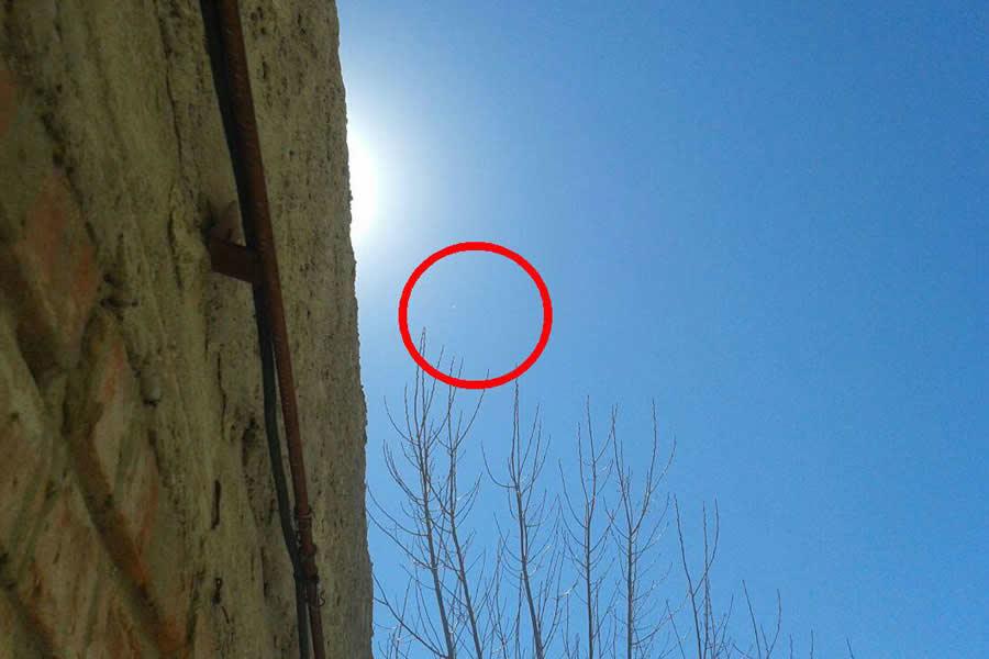 Conmoción en Jáchal (Argentina) por la aparición de un objeto en el cielo