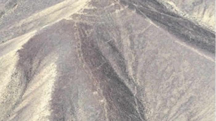 Este geoglifo, de unos 60 metros de largo por 4 metros de ancho, está cerca del siempre fotografiado colibrí.