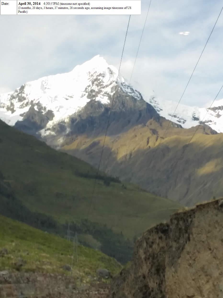 Extrañas luces son fotografiadas en cielo de Cusco, Perú