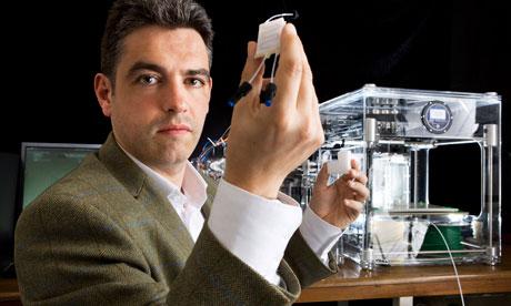 Lee Cronin, Profesor de Química en la Universidad de Glasgow, Escocia