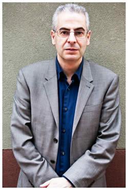 Nick Pope, ex investigador MOD OVNI, en el Congreso Internacional OVNI. (Crédito: Peter Beste / Open Minds)