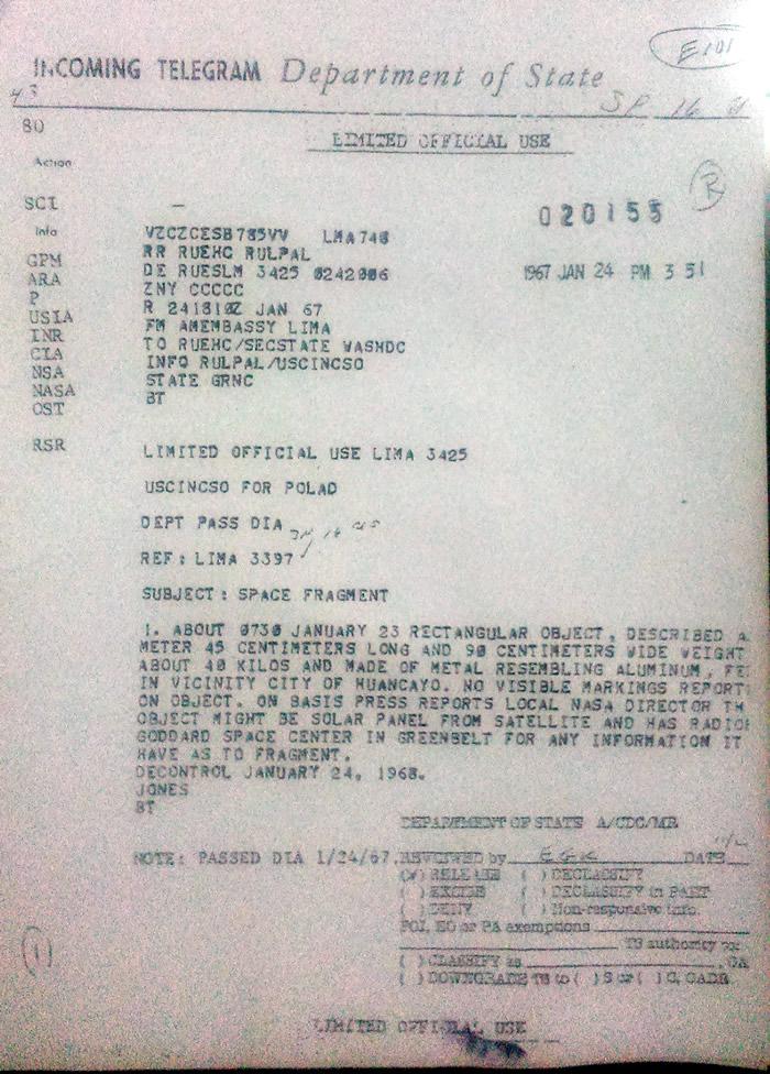 Documento 16441 - Caso Huancayo, página 1