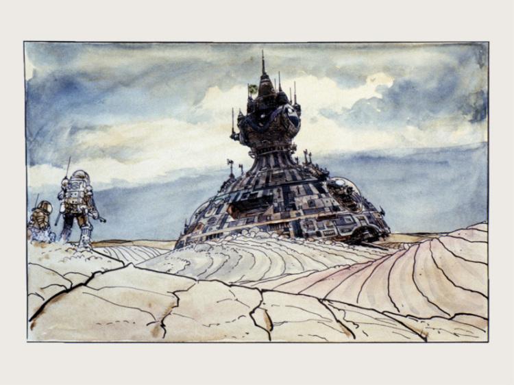 Alien (1979) Los bocetos originales.