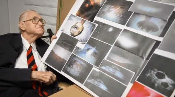 Las sorprendentes imágenes de extraterrestres del Área 51 reveladas por Boyd Bushman