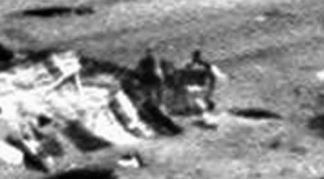 Figuras humanoides en Marte