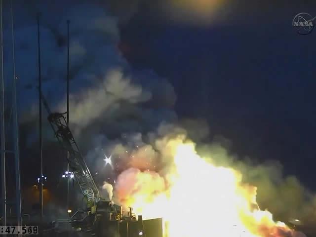 Cápsula Cygnus no llegará a la EEI por explosión