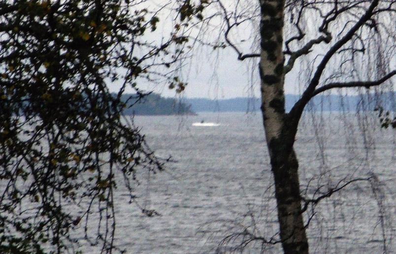 Presunto objeto desconocido avistado frente a la costa de Suecia