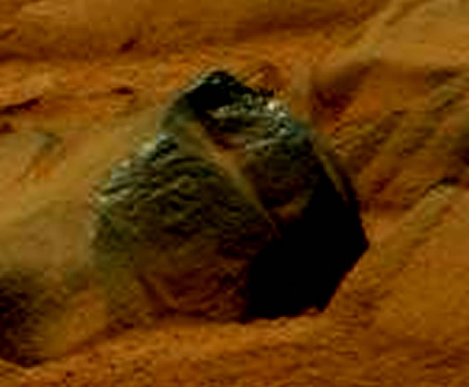 ¿Un petroglifo en Marte? Imagen 2