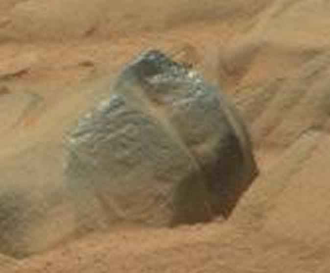 ¿Un petroglifo en Marte?